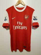 Arsenal 2010-2011 Home Jersey Football Shirt NASRI #8 (Very Good) M