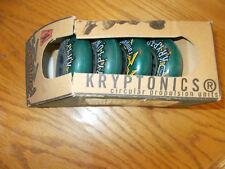 Rampage Krytonics Skate Wheels (4) Adult Skates In Box