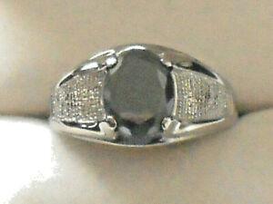 .NEW Stainless Steel Men's Ring Hematine Gemstone sizes 9-10-11 or 12