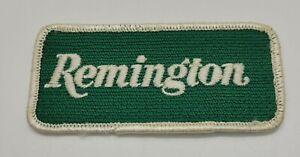 "VINTAGE ""REMINGTON"" RIFLE HUNTING PATCH"