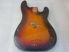 1983 FENDER PRECISION BASS BODY - '62 AVRI FULLERTON MODEL - made in USA