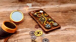 Steampunk custom 3D phone case, for most phones, customisation upon request