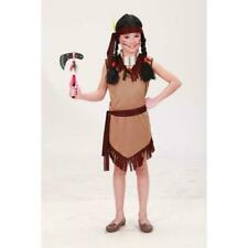 INDIAN GIRL WILD WEST COSTUME FANCY DRESS GIRLS CHILD  AGED 5-7 YEARS POCAHONTAS
