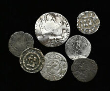 ITALY, Various States. Lot of 7 silver and billon issues, some better types