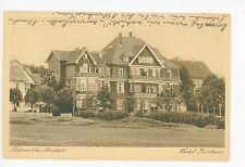 Hotel Kurhaus HAHNENKLEE Goslar—Lower Saxony Vintage AK 1938