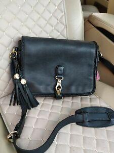 GUCCI Marrakech GG Tussel Leather Flap Messenger Bag Crossbody Shoulder 257024