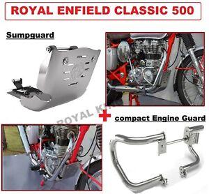 "Royal Enfield Classic 500 ""Compact Engine Guard & Sumpguard"""
