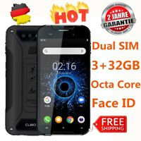 """Cubot Quest 4G Handy Smartphone Android Dual SIM Octa Core 3GB+32GB 5.0"""" Face ID"""