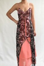 Temperley london boat dress moroccan print size 10uk / us6   ......E