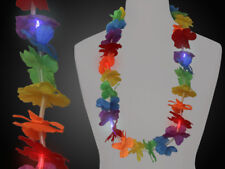 Led Collar Hawaiano Collar de Flor, Party Hawái Multicolor,Multicolor,Luz