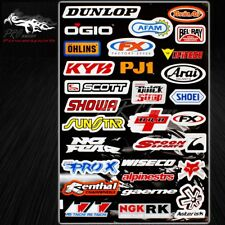 Automotive Sponsor Logo Decal Sticker Motorcycle/Dirt Bike/Car/Jet Ski/Helmet