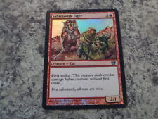 1x Foil - Sabretooth Tiger - Magic the Gathering MTG Eighth Edition 8th