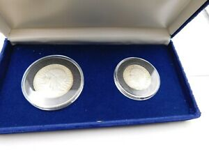 1932 and 1933 5 and 10 Zloty Coin Set WWII-Era Poland w/ COA