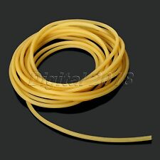 5M Yellow Tube Replacement Band for Hunting Sling Shot Slings Rubber 1.7x4.5mm