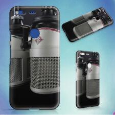 ALUMINUM AUDIO BATTERY BROADCAST HARD BACK CASE FOR GOOGLE PIXEL PHONE