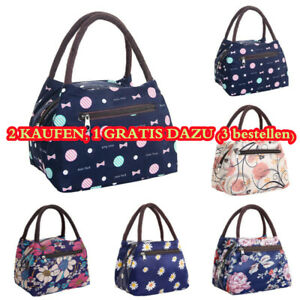 Insulated Lunch Bag Thermal Bento Cooler Food Tote for Women Girls Office Bags