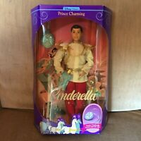 1991 Mattel Disney Prince Charming Doll (Cinderella/Barbie/Ken) #1625 NEW
