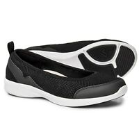 New Women`s Vionic Orthaheel Technology Sky Sena Slip-On Active Flats WIDE