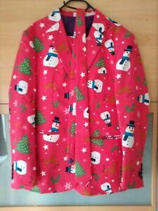 Opposuit Weihnachtsanzug rot Größe 50