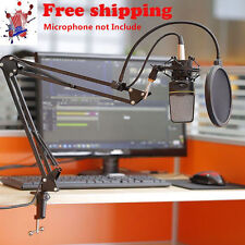 Audio Professional Condenser Microphone Mic Studio Sound Recording W Shock#Mount