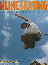 Inline Skating by Jeremy Evans 1998 Very Good Hardcover