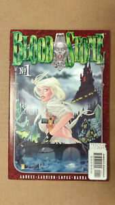 BLOODSTONE Vol 1 #1  1st Printing - Elsa Bloodstone         / 2001 Marvel Comics