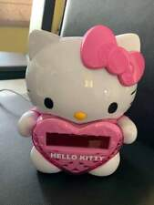 Hello Kitty AM/FM Projection Clock Radio w/ Digital Tuning and Battery Back-up