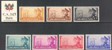 "C_A_3129. AFRICA ORIENT. 1941 ""PATTO ITALIA-GERMANIA"" set.Sas 34-40.MNH."