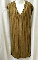 ZARA Size S Trafaluc Sleeveless Shift Dress Loose Fitting Striped New NWT