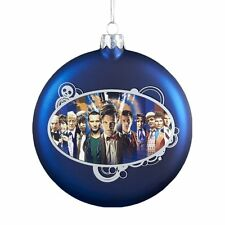 Doctor Who Kurt Adler Dr. Who Glass Disc Ornament, 100mm christmas Decorations