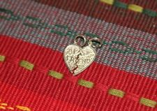 Sterling Silver Best Friend heart Charm Vintage 1980's Pendant 2 piece SALE L@@K