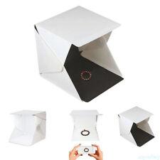 Photo Studio Lighting Box Photography Backdrop LED Mini Lightroom Portable case