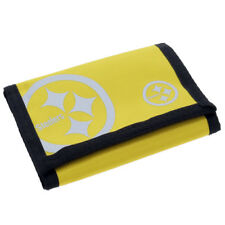 NFL Pittsburgh Steelers Foil Print Nylon Wallet - Official Football Gift Money