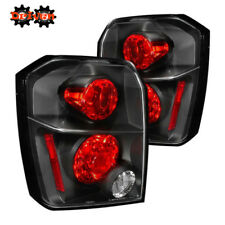 Rear Altezza Tail Light  Clear Lens Black Housing Red  07-12 Dodge Caliber
