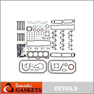 Fits 88-91 Toyota Corolla GTS FX16 MR2 1.6 DOHC Full Gasket Set Bolts 4AGE 4AGEC