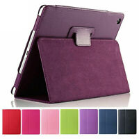 Leather Stand Flip Case for Apple iPad 10.2 8th Gen 2020 7th 2019 Pro 10.5 Air 3
