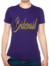 Bridesmaid Hen Party Wedding Favour Gift Bride Gift Funny Ladies T-shirt