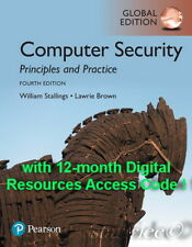 NEW 3 Days AUS Computer Security Principles & Practice 4E Stallings 4th Edition