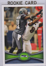 KAM CHANCELLOR ROOKIE CARD 2012 Topps Football NFL RC Seattle Seahawks!