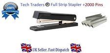 Full Strip METAL Stapler & 2 FREE Packs of 1000 Staples SAME DAY DISPATCH