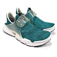 NEW Nike Men's Sock Dart QS Safari Turbo Green Teal Sneakers 2017 10 AUTHENTIC