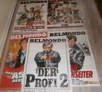 5 x A1-Filmplakat  SAMMLUNG ,KONVOLUT , JEAN PAUL BELMONDO