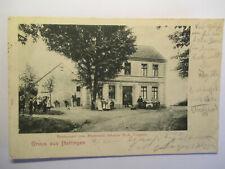alte Ansichtskarte  Hattingen Ennepe-Ruhr-Kreis Restaurant Stadtwald 1905