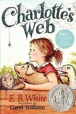 Charlotte's Web (Trophy Newbery), E. B. White, Kate DiCamillo, 0064400557, Book,