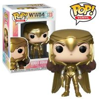 Wonder Woman Golden Armour Official DC Wonder Woman 1984 Funko Pop Vinyl Figure