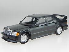1 18 Minichamps Mercedes 190E 2.5-16 Evo1 1989 Black-bluemetallic