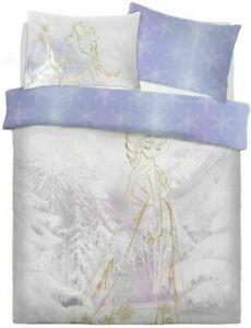 Disney Frozen Elsa Anna Duvet Cover Reversible Bedding Set Single Double Gift