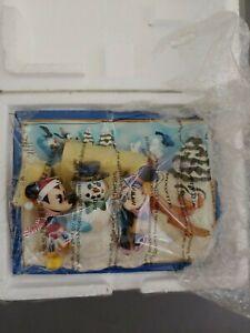 """Disney Seasons of Friendship """"Winter Wonders"""" Collectors Plate Bradford Exchange"""