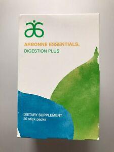 Arbonne Essentials Digestion Plus 30 Stick Packs
