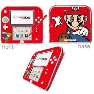 Super Mario Bros - Vinyl Skin Sticker for Nintendo 2DS